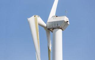 How do you throw away a dead wind turbine?