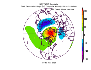 Dispute, if not refutation, of Texas freeze being a sign of climate driven polar vortex 9